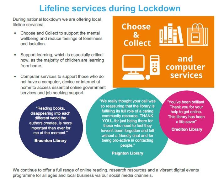 Lifeline library services
